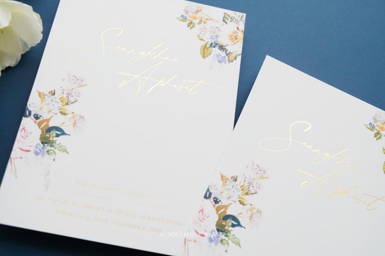 การ์ดแต่งงานปั๊มฟอยล์เต็มหน้า ราคาถูก แบบการ์ดแต่งงาน ออกแบบการ์ดแต่งงาน พิมพ์การ์ดแต่งงาน ขนาด ราคา ปั๊มทอง ปั๊มนูน ปั๊มฟอยล์ ไดคัท การ์ดพับ การ์ดประกบ