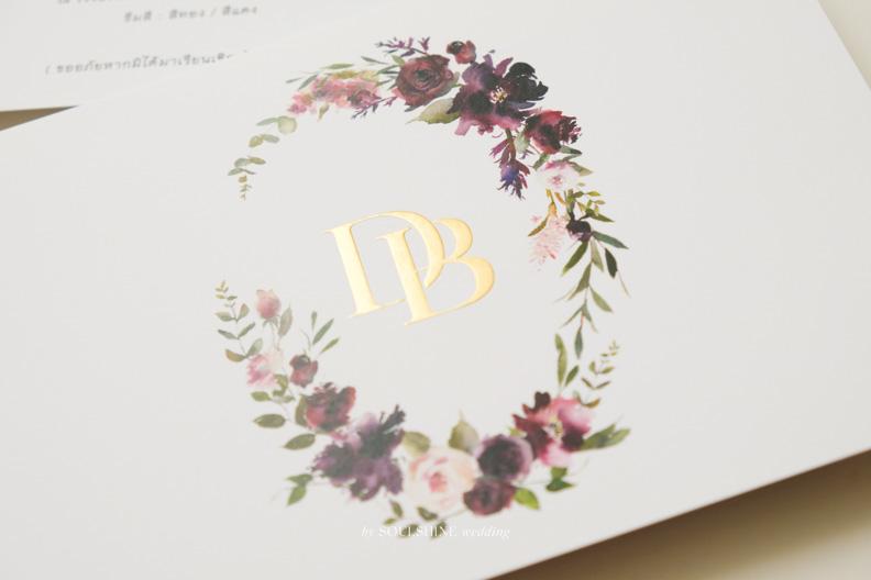การ์ดแต่งงานปั๊มฟอยล์นูน การ์ดแต่งงาน แบบการ์ดแต่งงาน ออกแบบการ์ดแต่งงาน พิมพ์การ์ดแต่งงาน ขนาด ราคา ปั๊มทอง ปั๊มนูน ปั๊มฟอยล์ ไดคัท การ์ดพับ การ์ดประกบ