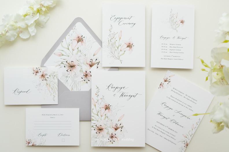 การ์ดแต่งงาน RSVP การ์ดหลายใบ การ์ดแต่งงาน การ์ดงานแต่ง แบบการ์ดแต่งงาน ออกแบบการ์ดแต่งงาน พิมพ์การ์ดแต่งงาน ราคาถูก พิมพ์ซองการ์ด