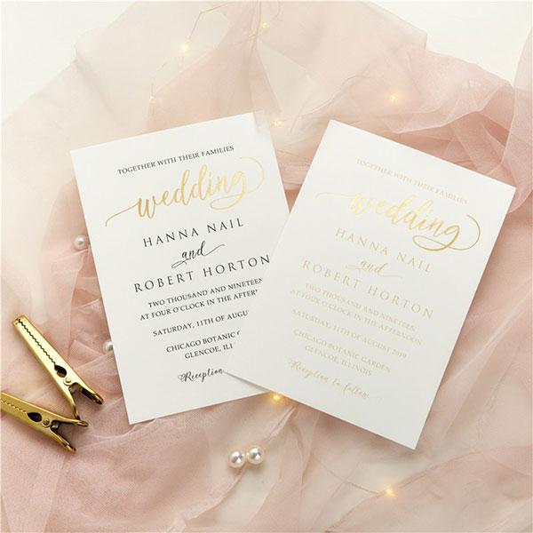 การ์ดแต่งงานเรียบหรู ธีมสีสุดฮิต ดูสวยแพง, แบบการ์ดแต่งงานเรียบๆ แบบการ์ดแต่งงานหรูๆ แบบการ์ดแต่งงานสวยหรูดูแพง แบบการ์ดแต่งงานหรูหรา แบบการ์ดแต่งงานเก๋ๆ การ์ดงานแต่งเก๋ๆ แบบพิมพ์การ์ดแต่งงานสวยๆ แบบการ์ดแต่งงานมินิมอล ราคาถูก แบบการ์ดแต่งงานขนาด 5x7 4x6 4x9 การ์ดแต่งงานสีแดง การ์ดเชิญงานแต่ง สีน้ำเงิน สีชมพู สีเขียวขาว สีเทา การ์ดแต่งงานสีทอง สีเงิน สีโรสโกลด์ สีพิงค์โกลด์ ออกแบบการ์ดแต่งงาน ฟรี แบบที่ 21