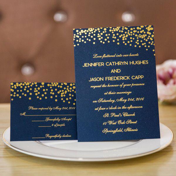 การ์ดแต่งงานเรียบหรู ธีมสีสุดฮิต ดูสวยแพง, แบบการ์ดแต่งงานเรียบๆ แบบการ์ดแต่งงานหรูๆ แบบการ์ดแต่งงานสวยหรูดูแพง แบบการ์ดแต่งงานหรูหรา แบบการ์ดแต่งงานเก๋ๆ การ์ดงานแต่งเก๋ๆ แบบพิมพ์การ์ดแต่งงานสวยๆ แบบการ์ดแต่งงานมินิมอล ราคาถูก แบบการ์ดแต่งงานขนาด 5x7 4x6 4x9 การ์ดแต่งงานสีแดง การ์ดเชิญงานแต่ง สีน้ำเงิน สีชมพู สีเขียวขาว สีเทา การ์ดแต่งงานสีทอง สีเงิน สีโรสโกลด์ สีพิงค์โกลด์ ออกแบบการ์ดแต่งงาน ฟรี แบบที่ 28 สีน้ำเงินทอง